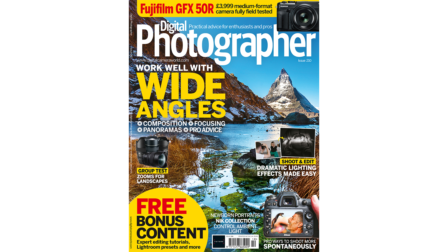 New Issue: Digital Photographer magazine Issue 210 is now on sale