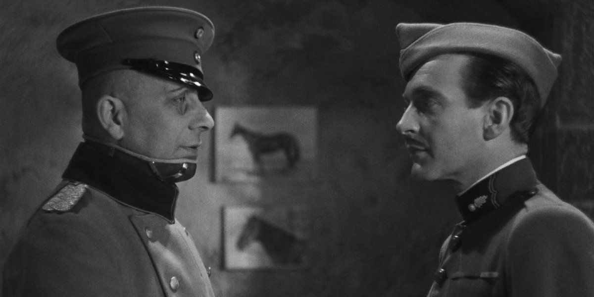 Screenshot from Grand Illusion (1938)