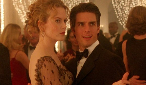 Eyes Wide Shut Nicole Kidman and Tom Cruise dancing at a party