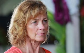'Tropical storms stopped filming!' Brittas Empire actress Pippa Haywood on guesting in Death in Paradise