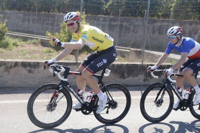 Stefan Küng è il vincitore della breve corsa a tappe iberica (foto Bettini)