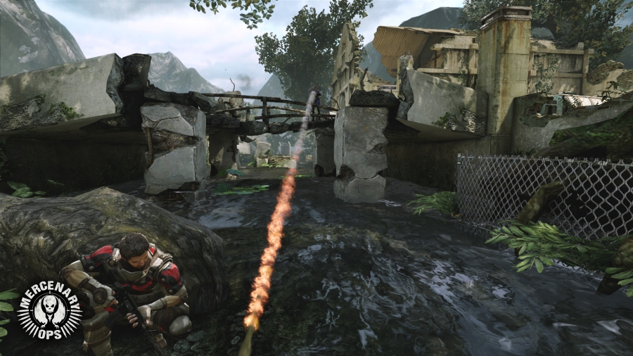 Mercenary Ops Trailer, Images Show Off The Beauty Of Unreal Engine 3 #21622