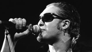 Alice In Chains singer Layne Staley onstage