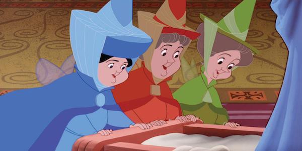 Sleeping Beauty the Three Fairies