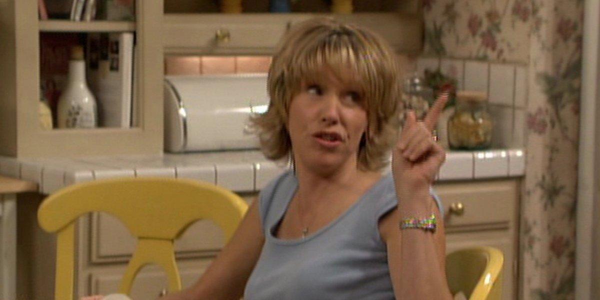Betsy Randle as Amy Matthews on Boy Meets World