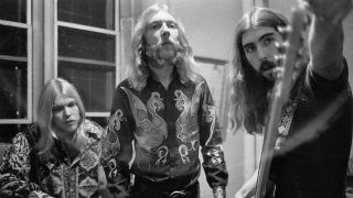A photograph of the Allman Brothers Band in the early 1970s