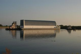 NASA Ships Space Shuttle Fuel Tank to New Orleans Factory