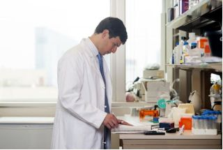 Dr. David Fajgenbaum, above, has a rare disease known as Castleman disease.