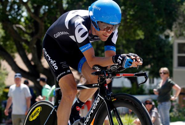 David Zabriskie, stage winner, Tour of California 2011, stage 6 ITT