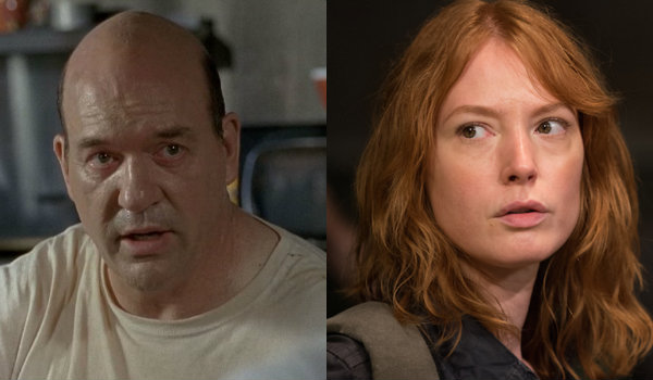 John Carroll Lynch Alicia Witt The Walking Dead