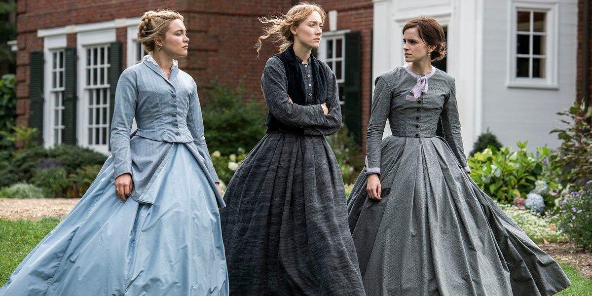 Florence Pugh, Saoirse Ronan, Emma Watson - Little Women (2019)