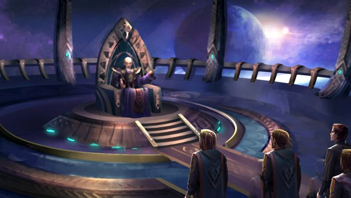 Try to save your crumbling sci-fi empire in the Alliance of the Sacred Suns demo