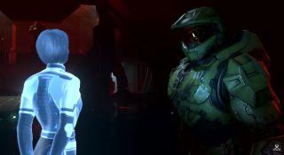 Halo Infinite Master Chief and Cortana