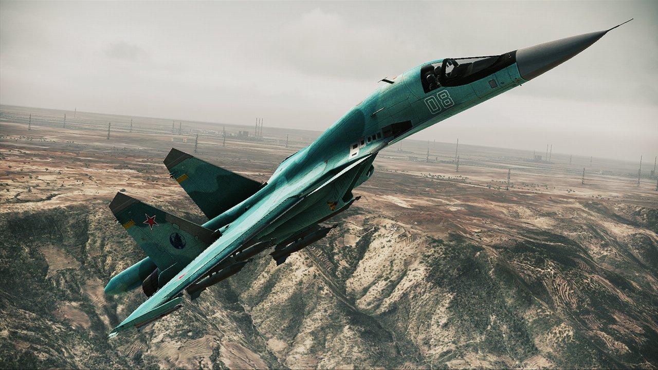 Ace Combat: Assault Horizon Sexy New Fighter Plane Screenshots