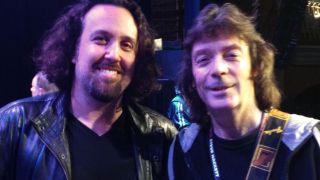 Dave Kerzner and Steve Hackett