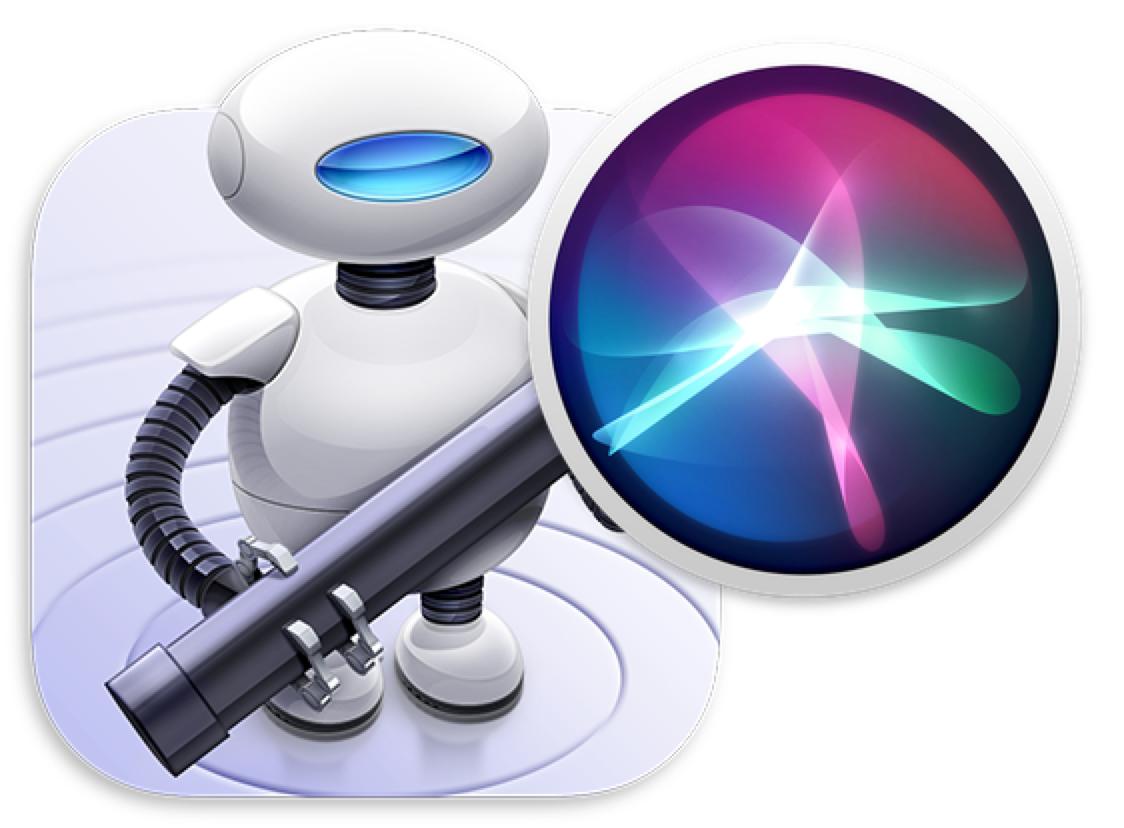 Automator and Siri logos