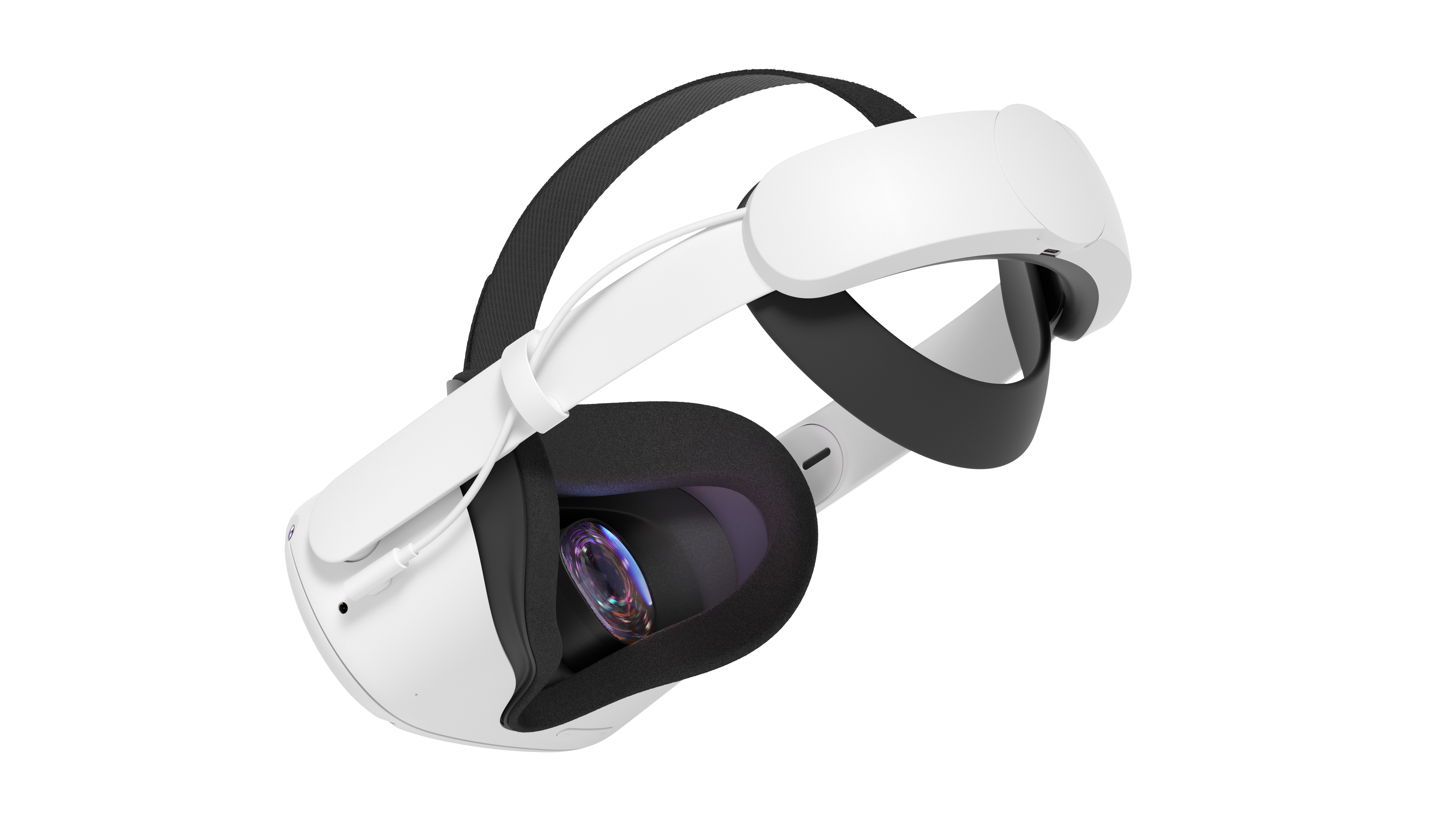 Side view of Oculus Quest 2