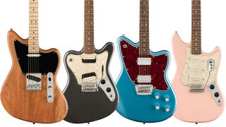 Squier Paranormal Series electric guitars and basses