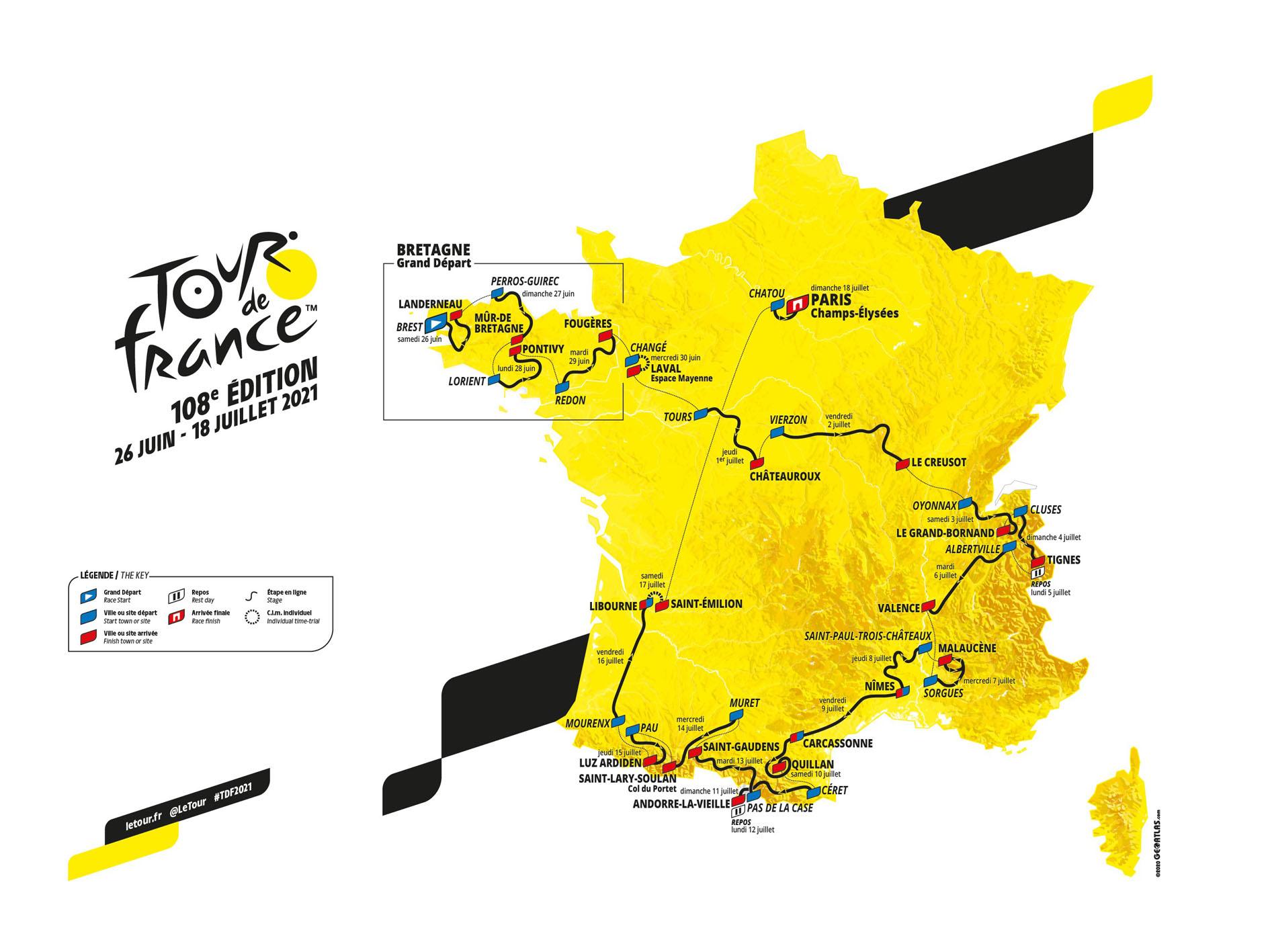 Tour De France 2021 Start