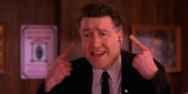 david lynch as Gordon Cole Twin Peaks abc