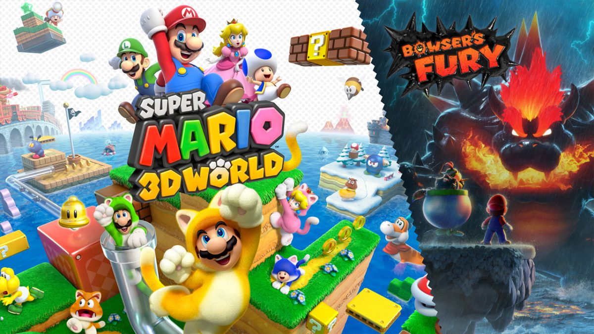 Pre-order Super Mario 3D World + Bowser's Fury - get the best deal going right now
