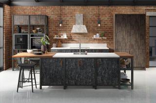 Modern Kitchen Ideas - Steel Framed Kitchen by Wren Kitchens