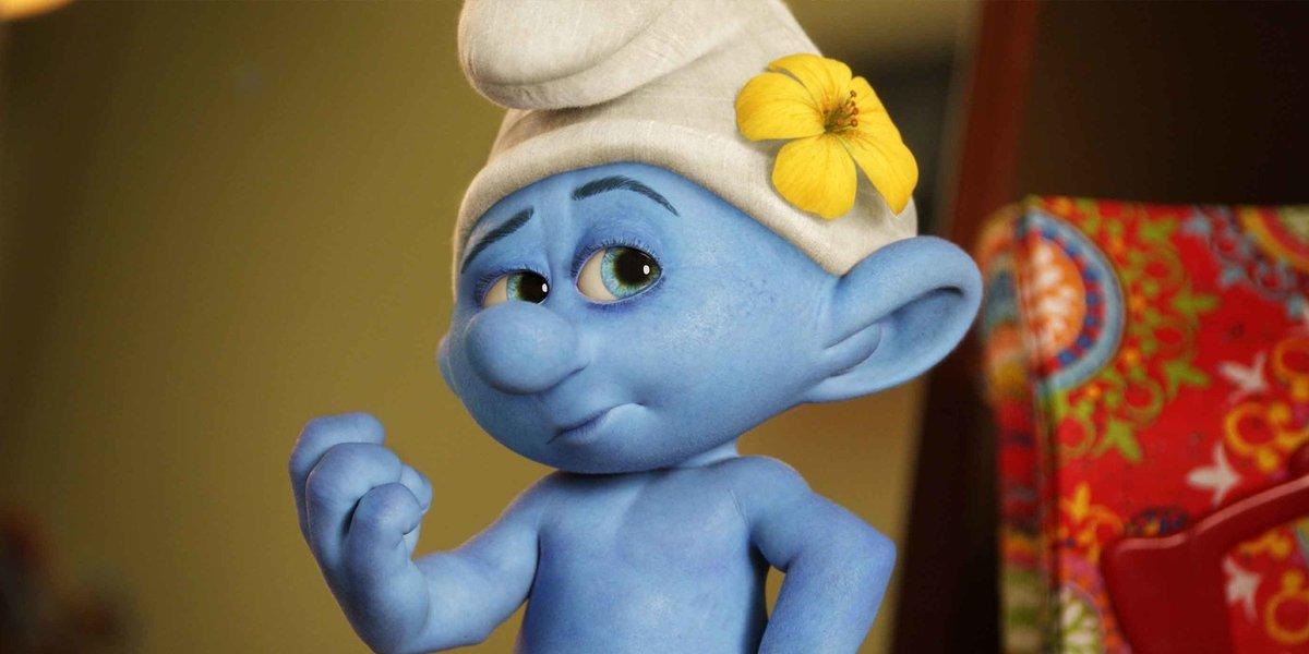 John Oliver as Vanity in The Smurfs
