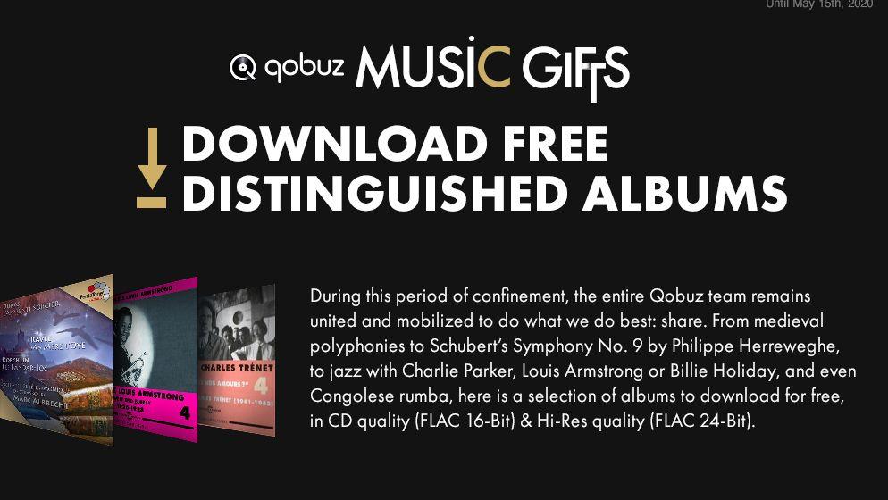 Qobuz is offering What Hi-Fi? readers free hi-res album downloads