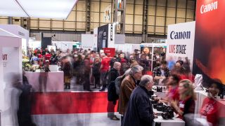 Canon stand and stage at The Photography Show last year