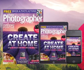 Our new issue is perfect for shooting, editing and creating images at home – whether you're alone or with family