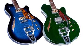 Supro Conquistador and Clermont