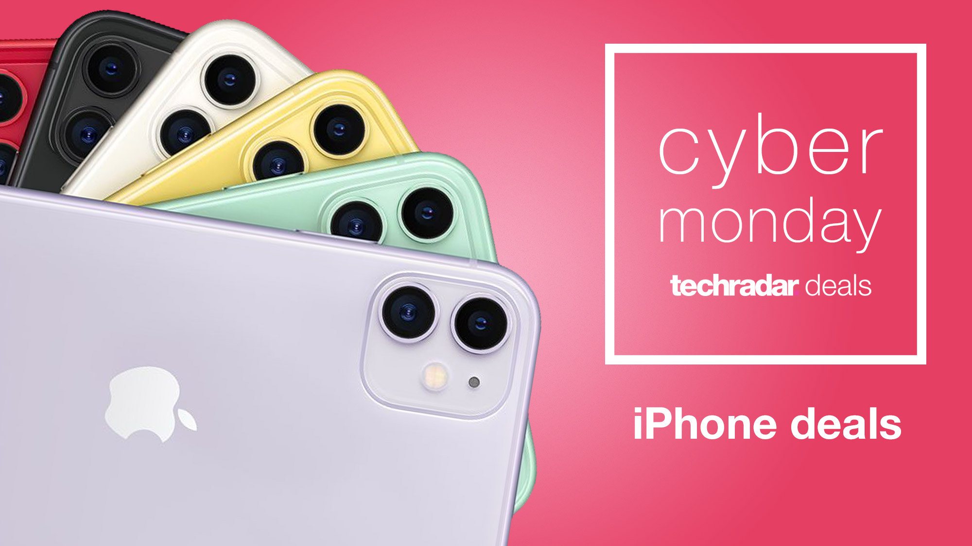 Cyber Monday Iphone Deals 2020 What To Expect This Year Techradar