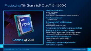 Core i9-11900K Preview