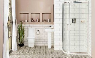 Ceramic wall and floor tiles are a practical and cost effective choice for your bathroom floor