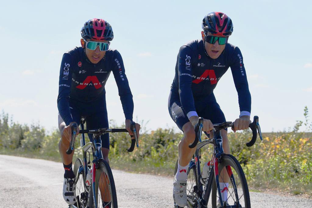 Brailsford Bernal Ineos Tour de France 2020 rest day