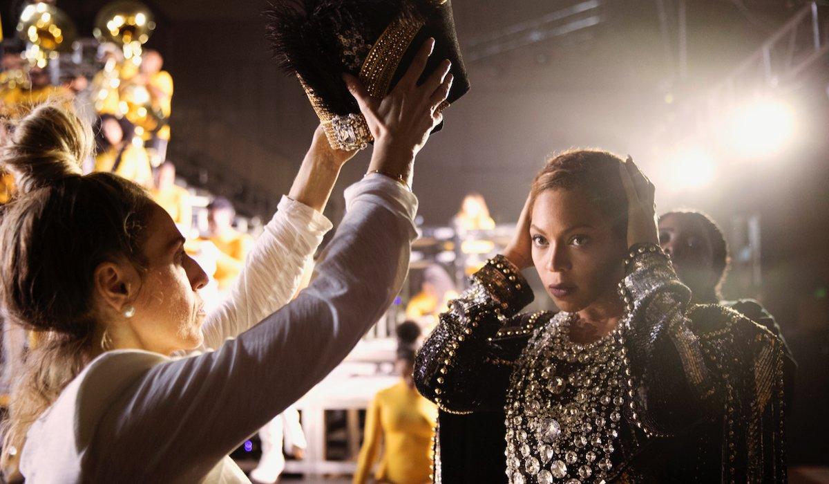Beyonce at Coachella in Homecoming
