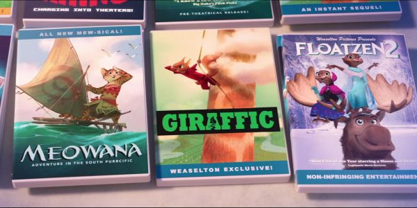 Fake Disney DVDs from Zootopia