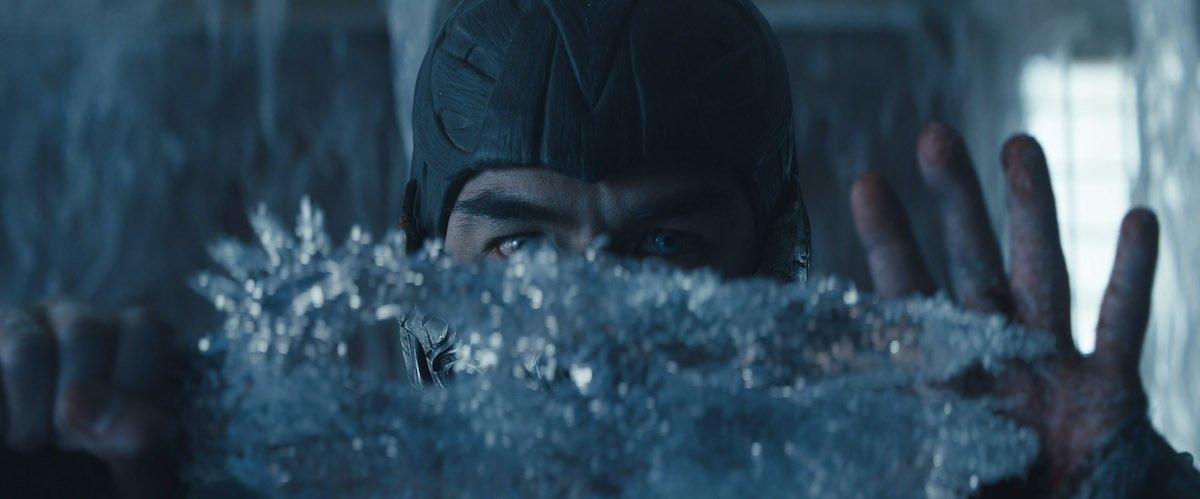 Joe Taslim as Bi-Han/Sub-Zero in Mortal Kombat