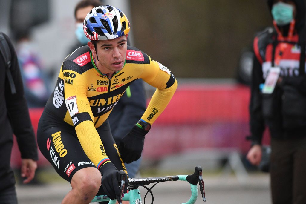 Wout van Aert: Tabor World Cup podium was down to guts and perseverance