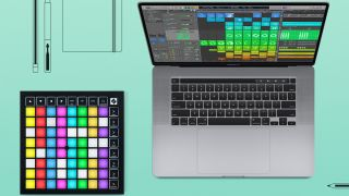 Novation's Launchpads offer plug-n-play control of Logic Pro X 10.5's Live Loops