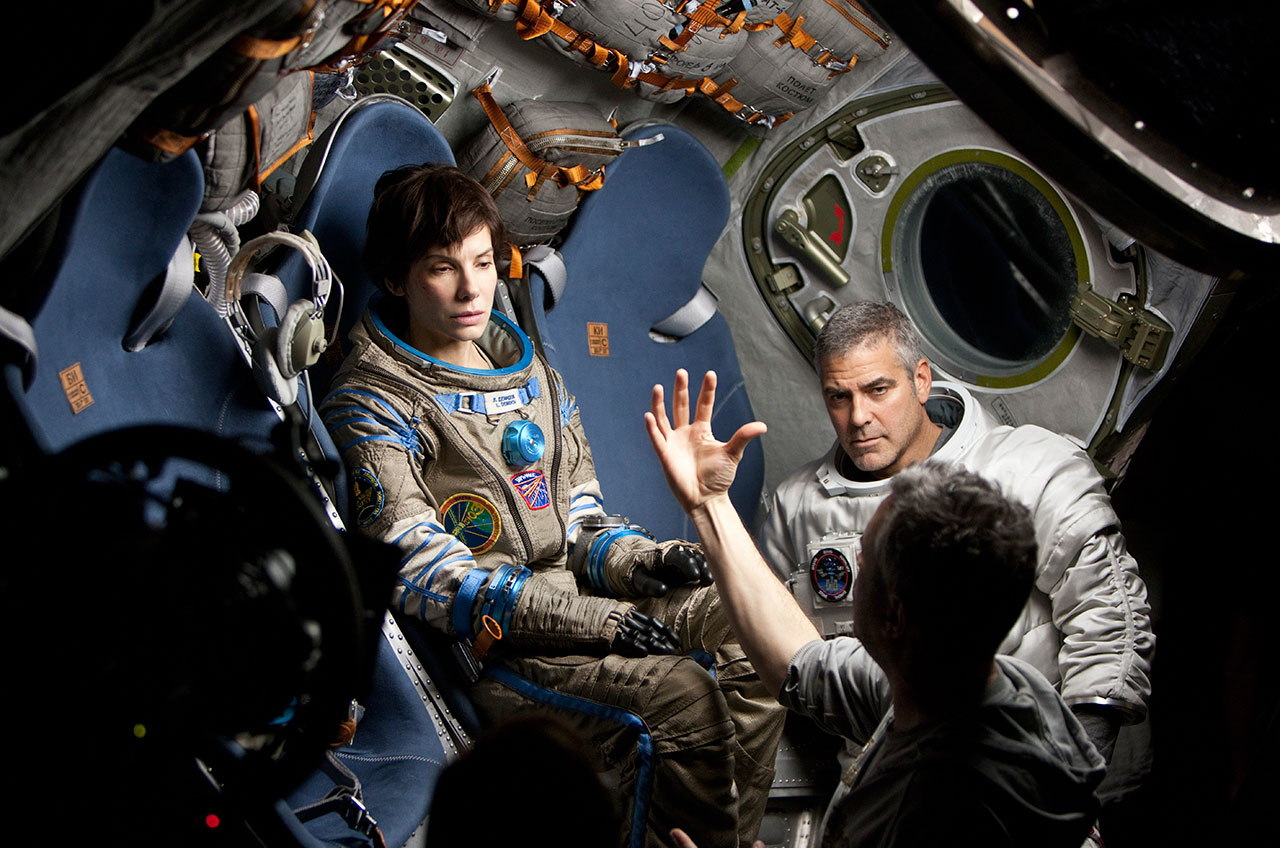 Gravity Reality Check Alfonso Cuaron Sandra Bullock Talk Fact Vs Fiction Video Space