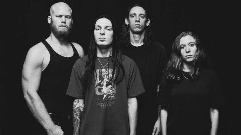 A press shot of Code Orange in 2017