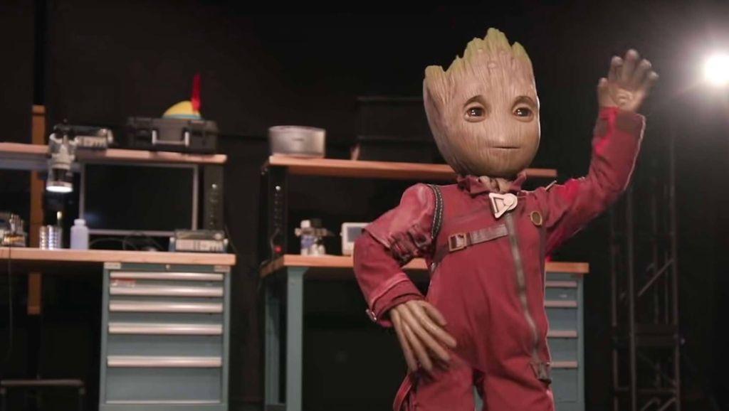 Disney Imagineers reveal new robotic 'Baby Groot' in new video