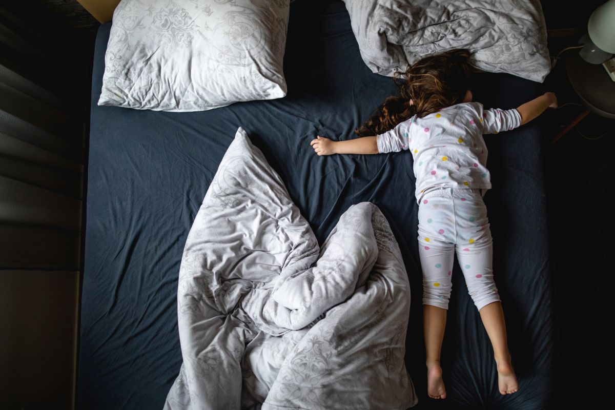 Try this kids sleep meditation if your little one is struggling to wind down