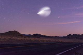 Falcon Heavy 3rd Burn