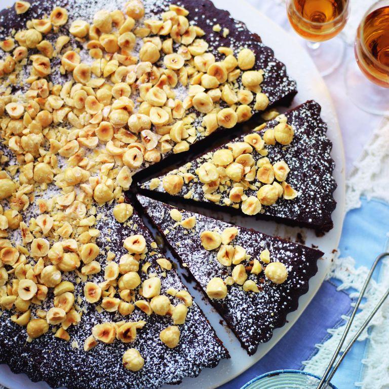 Chocolate, Orange and Hazelnut Torte recipe-Chocolate Recipes-Recipe Ideas-Woman and Home