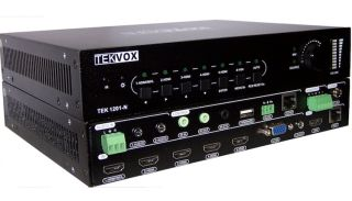 TEKVOX Introduces TEK 1201-N Presentation Switcher