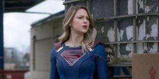 Melissa Benoist as Kara Danvers in Supergirl.