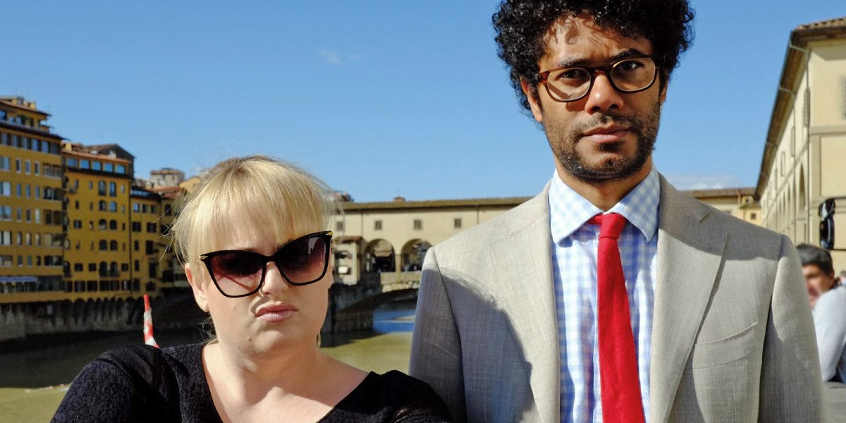 Rebel Wilson and Richard Ayoade on Travel Man