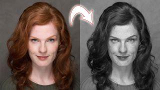 Lightroom tutorial enhance freckles